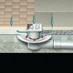 Einzelablauf zur Balkon- und Terrassenentwässerung von ACO Haustechnik