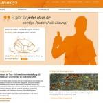 Sunways mit neuem Internetauftritt