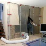 Der handliche Luftreiniger protekAIR sorgt für saubere Luft auf staubigen Baustellen und in angrenzenden Räumen – das ist angenehm für die Bewohner, aber auch für den Handwerker.