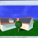 Das dynamische Simulationsprogramm von Valentin mit 3DVisualisierung und detaillierter Verschattungsanalyse