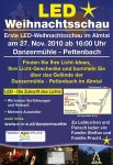 LED Weinachtsschau in Pettenbach - Danzermühle